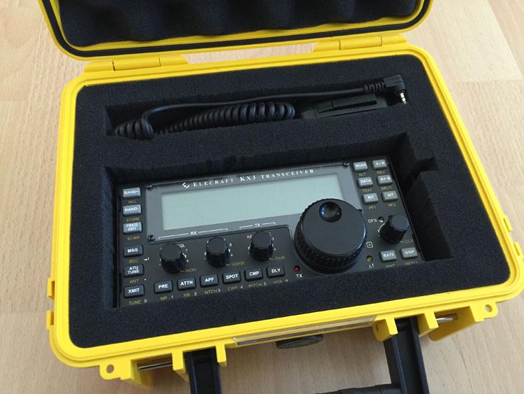 kx3 im koffer